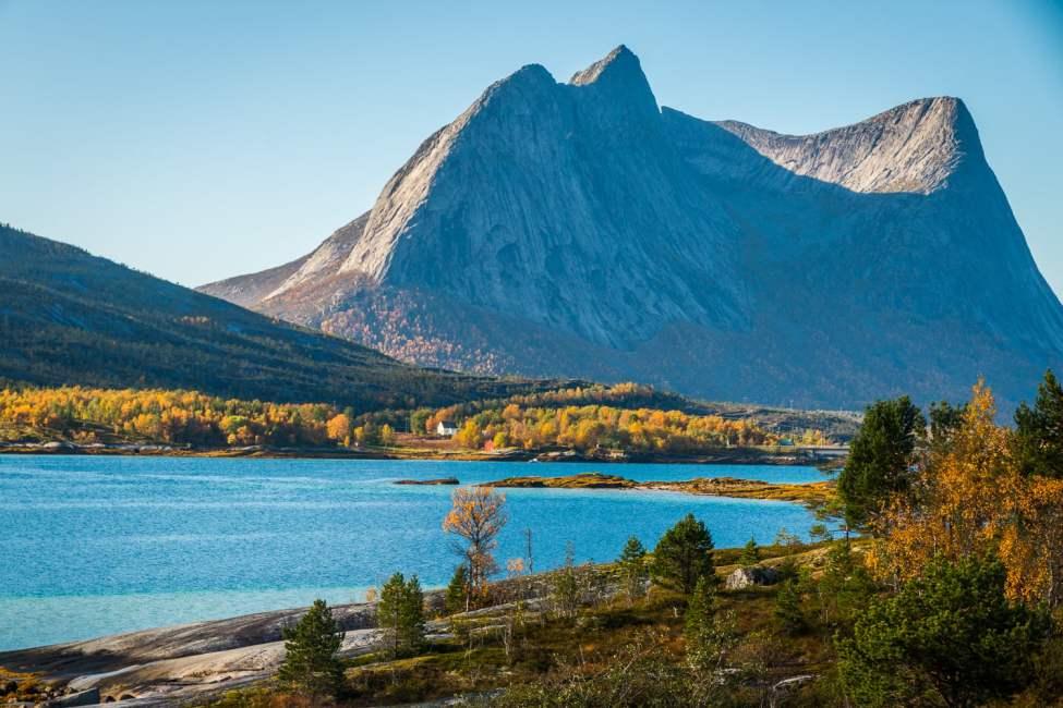 På väg söderut i krokarna av Narvik