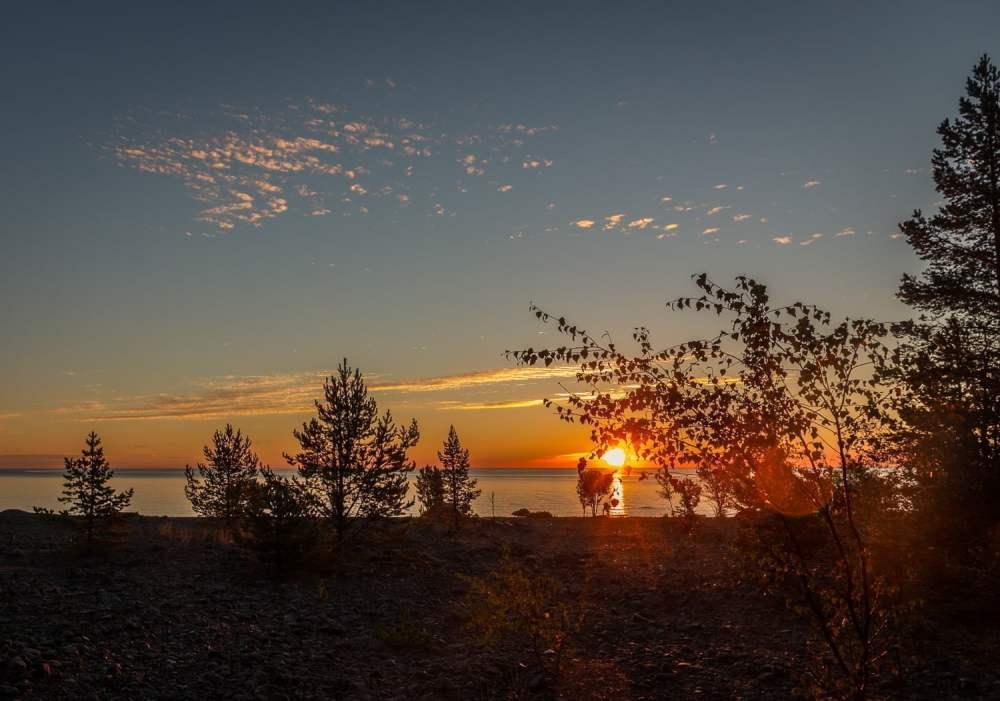 Soluppgång på Bjuröklubb