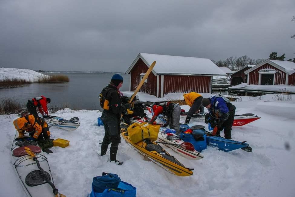 Snö på örö, mysigt. 2010.