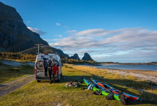Tomma på Helgelandskusten