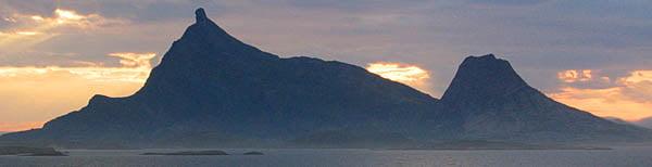 Hestmona sett från Innerkvarøya