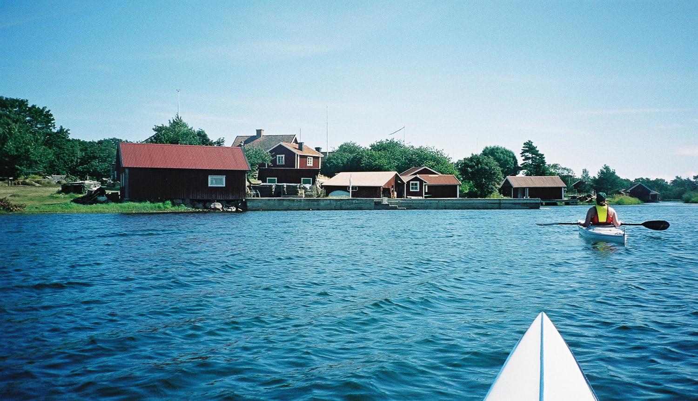 Vid Örö, midsommar 1999