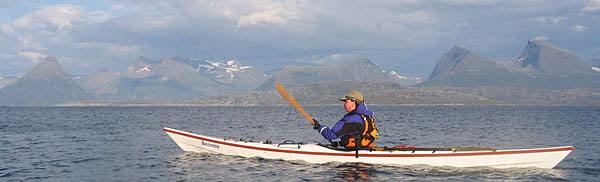 Pia på väg österut söder om Yttre Kvarøya