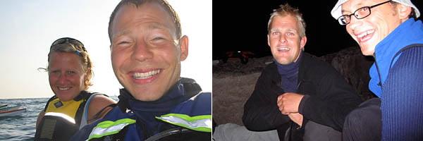 Karin & Tobbe nånstans mellan Rävholmen & Vinga | Patric och Marcus