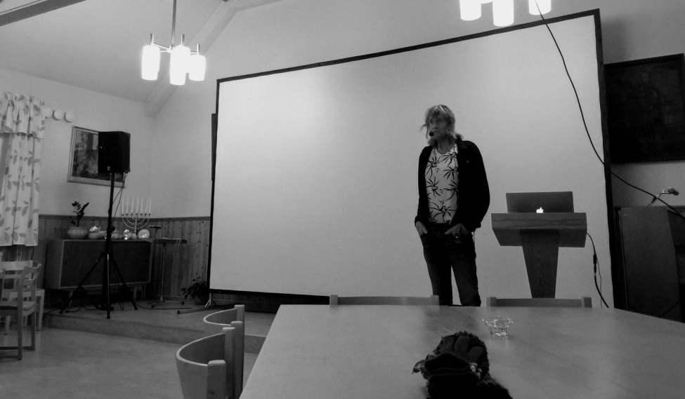 Svante Lysén snackar om sina vildmarksår