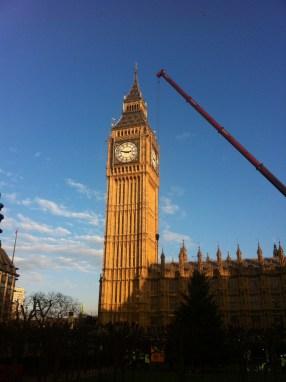 London, Big Ben. November 2014