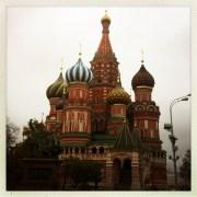 Moskau, Basilius-Kathedrale. Oktober 2014