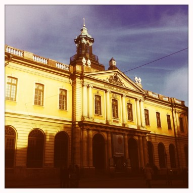 Stockholm, Kungliga Akademien. Oktober 2014