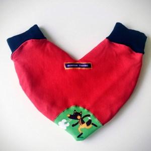 Pärchen Handschuh kakakiri rot