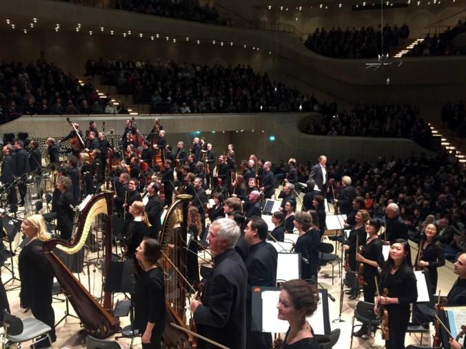Elbphilharmonie Orchester Applaus kakakiri