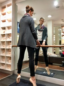 pointe shoe fitting Bloch London Jahresrückblick 2017