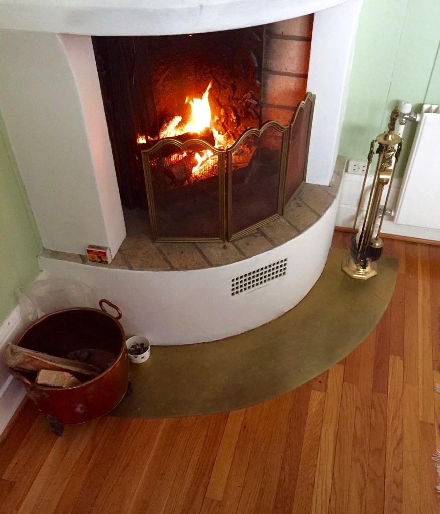 Den gamle ovnen som snart skulle fjernes