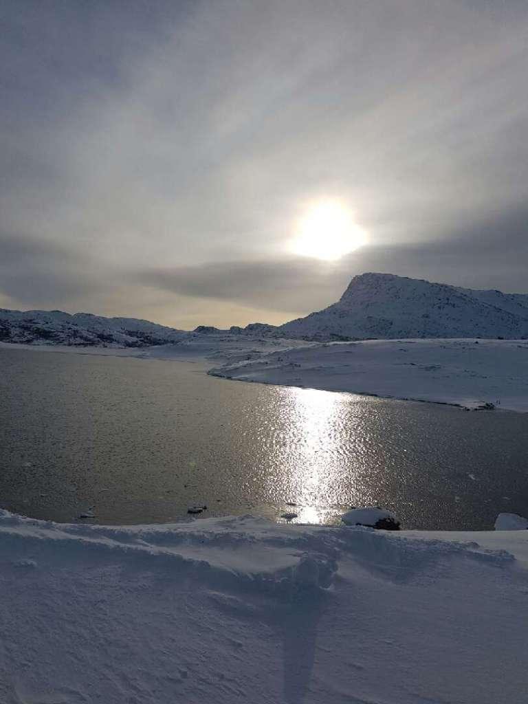 Landskapsbilde av Seiland