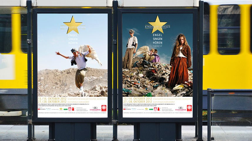 Kakoii Berlin Werbeagentur - Kinderoper. Plakate.