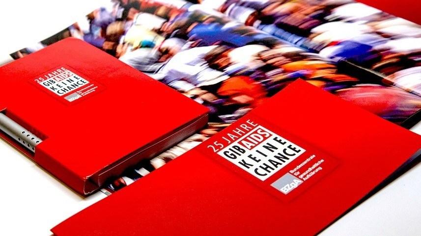 Kakoii Berlin Werbeagentur BZgA 25 Jahre GIB AIDS KEINE CHANCE.