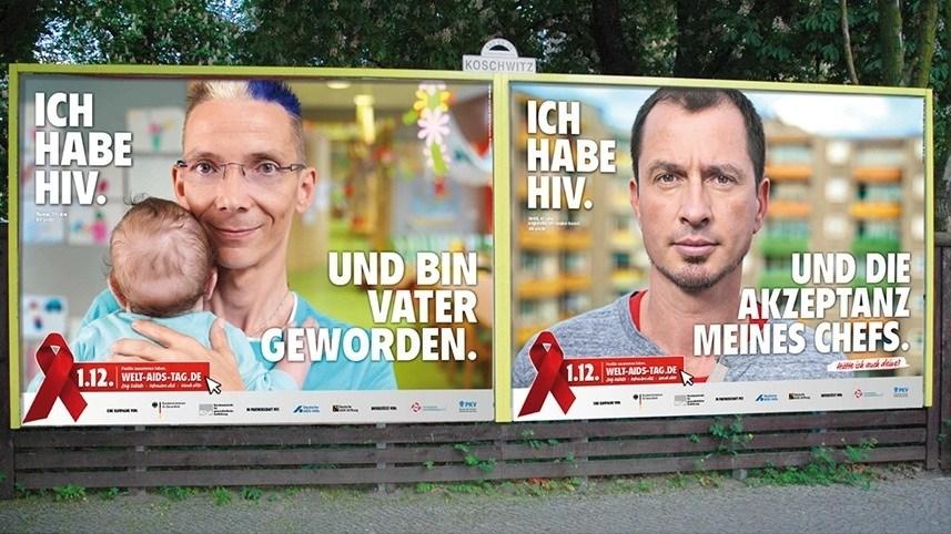 Kakoii Berlin Werbeagentur BZgA Weltaidstag Plakat.