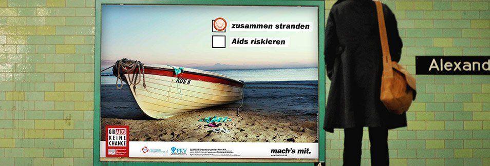 Aktion Gegen Aids Pharmaagentur und Healthcareagentur kakoii Berlin