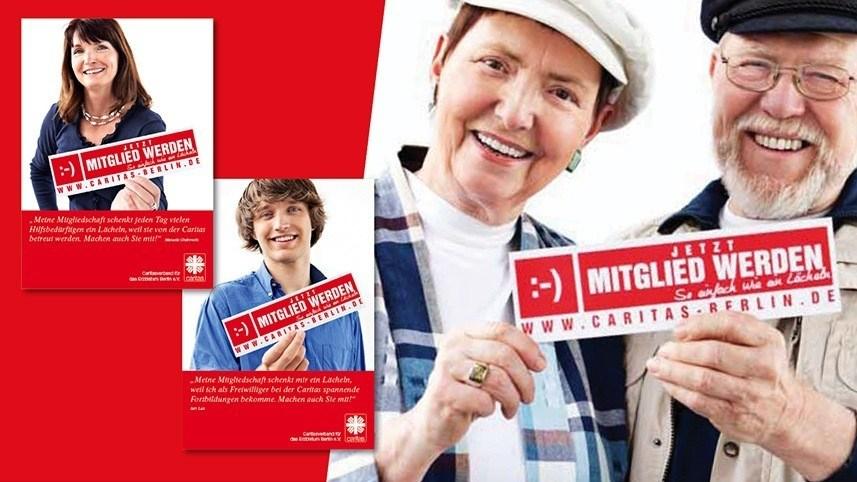 Werbeagentur Kakoii Berlin - Caritas. Plakat.