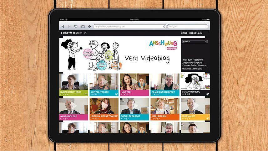 Kakoii Berlin Werbeagentur DKJS. Website.