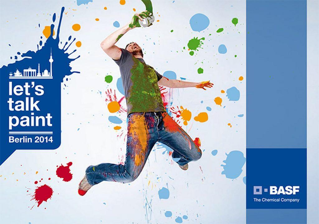 BASF - Let's talk paint Plakat