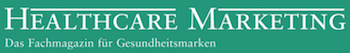 Logo Healthcare Marketing – Das Fachmagazin für Gesundheitsmarken