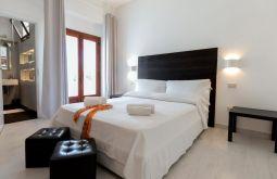 Schlafzimmer Ferienhaus Kalabrien