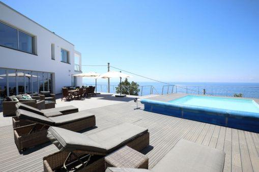 Ausblick Ferienhaus mit Pool Kalabrien
