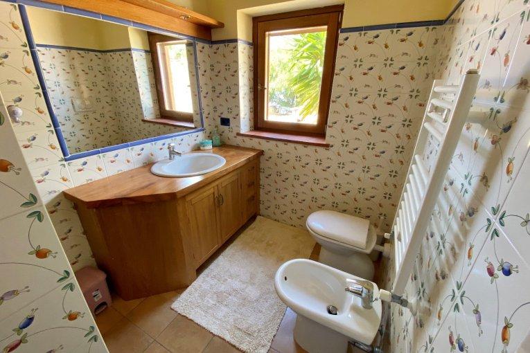 Badezimmer Kalabrien Villa