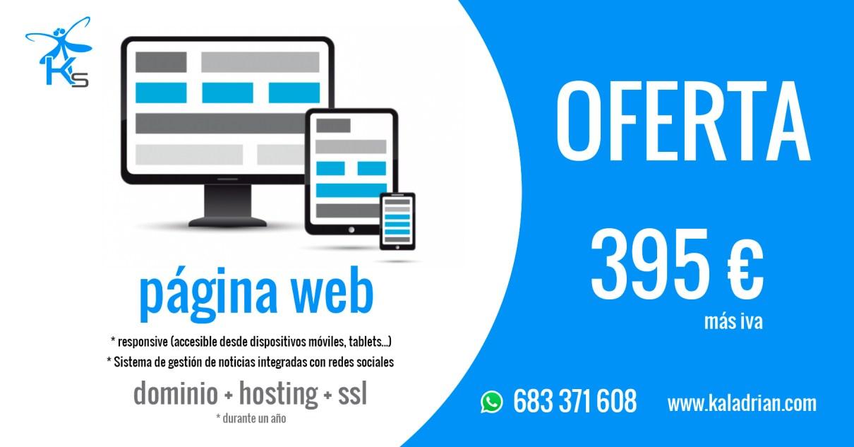 Oferta Página web