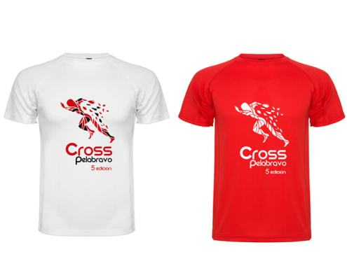 Camiseta técnica cross Pelabravo