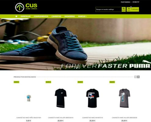 Página web CUS Urban Site