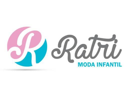 Logotipo Moda Infantil Ratri