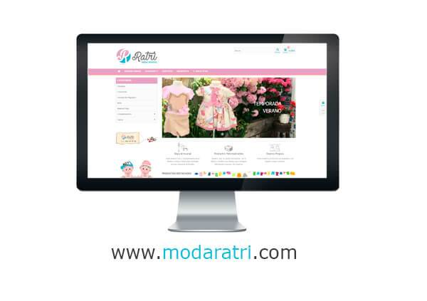 3a0df6c68 Tienda Online Moda Infantil Ratri - Páginas web Salamanca ...