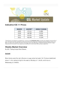 thumbnail of Indicative ICE 11 Prices