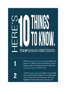 thumbnail of QFF 10 things to know – 28th June 2021