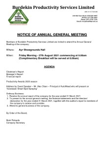 thumbnail of Burdekin Productivity Services- Notice of Annual General Meeting 27.08.2021