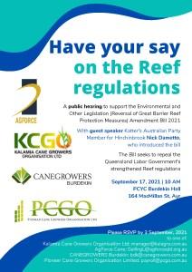 thumbnail of Reef regulations public hearing flyer