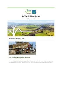 thumbnail of ACFA ENewsletter – 17th September 2021