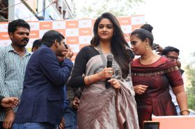 Actress Keerthi Suresh launches Happi Mobiles Store (8)