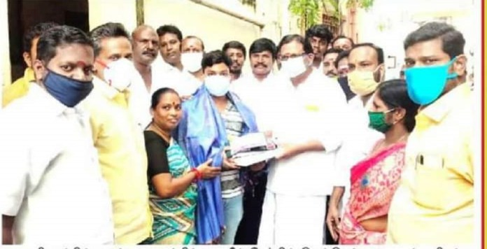 CM Wishes to Auto Driver Son