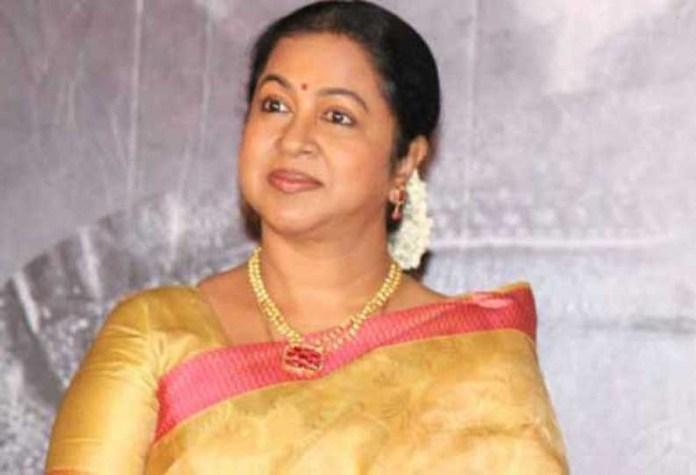 Radika Sarathkumar Releave from Chithi 2