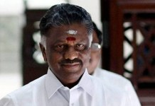 O Panner Selvam Speech