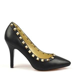 reducere Pantofi dama negri Karolina, cel mai mic pret
