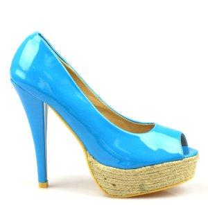 reducere Pantofi dama bleu Hugs, cel mai mic pret