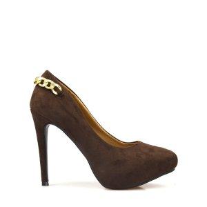 reducere Pantofi dama maro Blaxy, cel mai mic pret