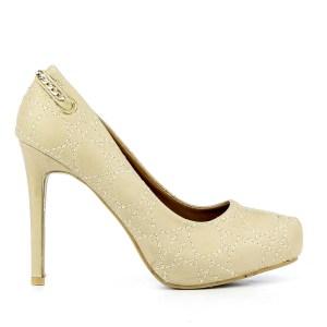 reducere Pantofi dama Lola bej, cel mai mic pret