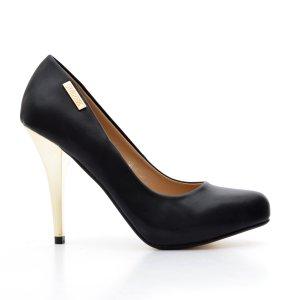 reducere Pantofi dama Megane negri, cel mai mic pret