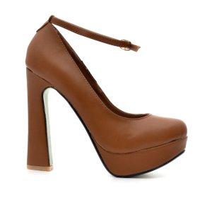 reducere Pantofi dama Kitana camel, cel mai mic pret