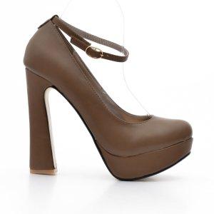 reducere Pantofi dama Kitana khaki, cel mai mic pret