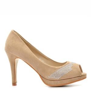 reducere Pantofi dama Pierce 1 khaki, cel mai mic pret